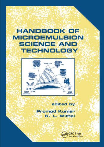 Handbook of Microemulsion Science and Technology book cover
