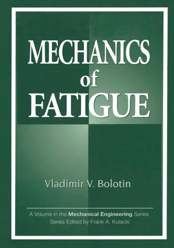 Mechanics of Fatigue book cover