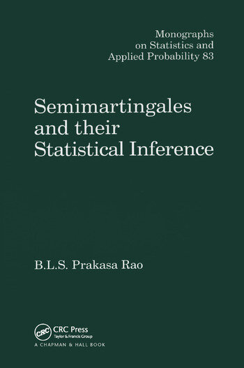 Semimartingales and their Statistical Inference book cover