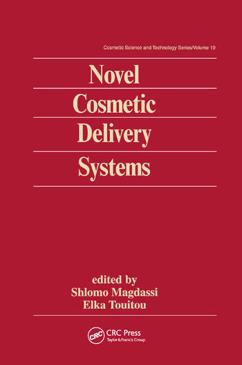 Novel Cosmetic Delivery Systems book cover