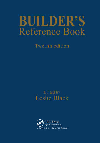 Builder's Reference Book book cover