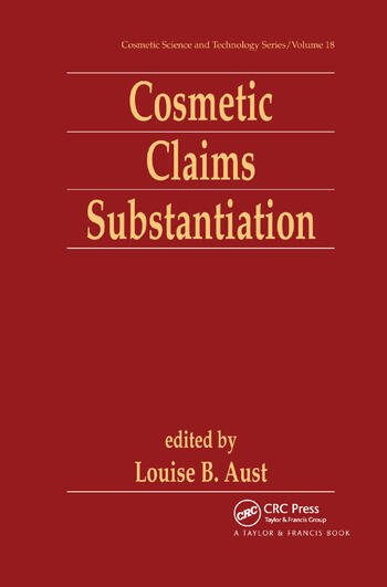 Cosmetic Claims Substantiation book cover