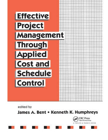 Effective Project Management Through Applied Cost and