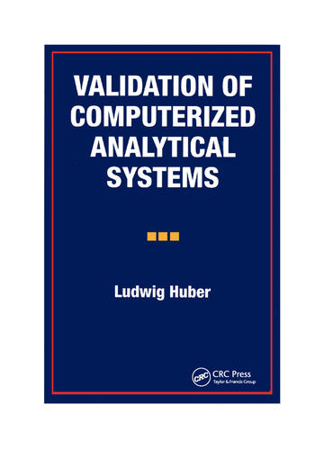 Validation of Computerized Analytical Systems book cover