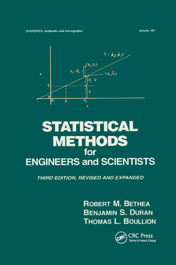Statistical Methods for Engineers and Scientists book cover