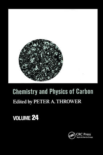 Chemistry & Physics of Carbon Volume 24 book cover