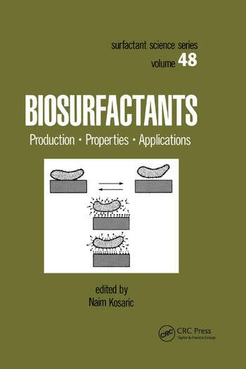 Biosurfactants Production: Properties: Applications book cover