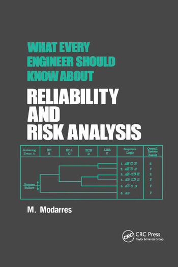 What Every Engineer Should Know about Reliability and Risk Analysis book cover