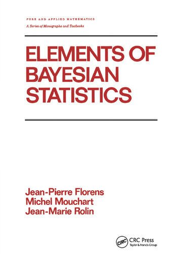 Elements of Bayesian Statistics book cover