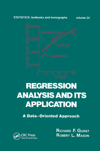 Regression Analysis and its Application A Data-Oriented Approach book cover