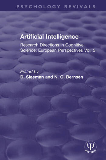 Artificial Intelligence Research Directions in Cognitive Science: European Perspectives Vol. 5 book cover