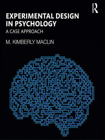 Experimental Design in Psychology A Case Approach book cover