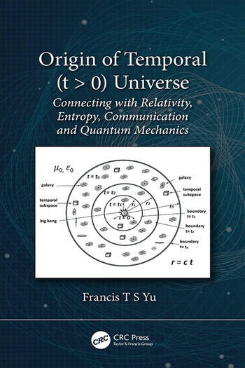 Origin of Temporal (t > 0) Universe Connecting with Relativity, Entropy, Communication and Quantum Mechanics book cover