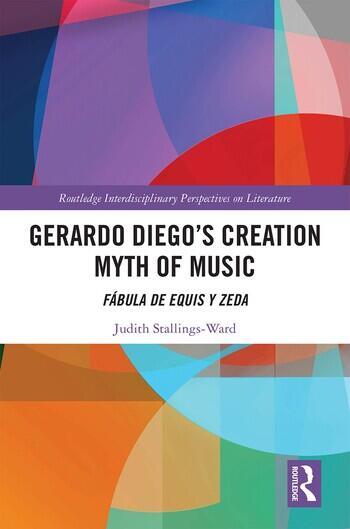 Gerardo Diego's Creation Myth of Music Fábula de Equis y Zeda book cover