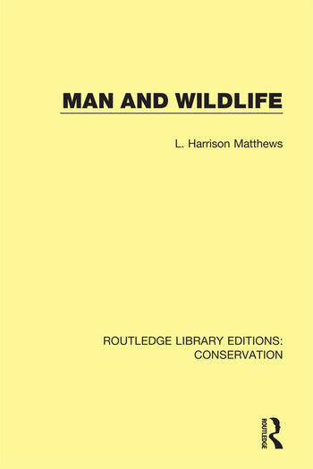 Man and Wildlife book cover
