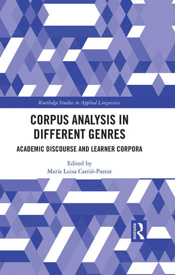 Corpus Analysis in Academic Discourse Academic Discourse and Learner Corpora book cover