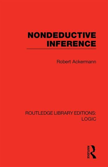 Nondeductive Inference book cover