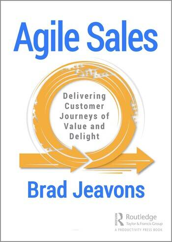 Agile Sales Delivering Customer Journeys of Value and Delight book cover