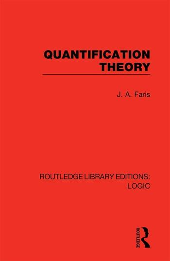 Quantification Theory book cover