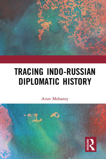 Tracing Indo-Russian Diplomatic History book cover