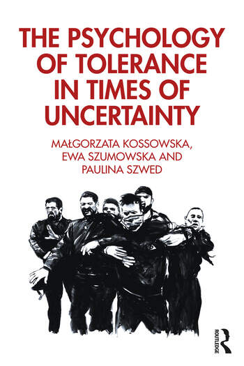 The Psychology of Tolerance in Times of Uncertainty book cover