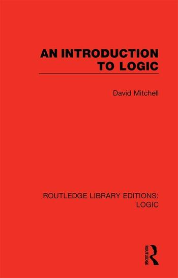 An Introduction to Logic book cover