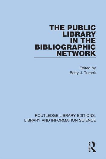 The Public Library in the Bibliographic Network book cover