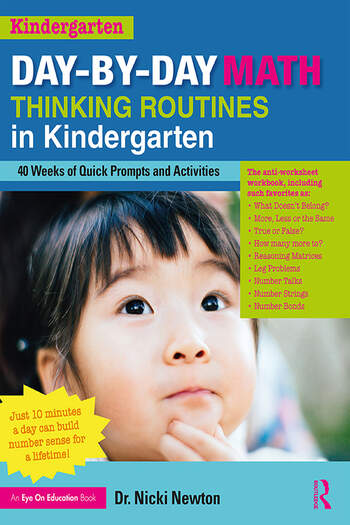 Day-by-Day Math Thinking Routines in Kindergarten 40 Weeks of Quick Prompts and Activities book cover