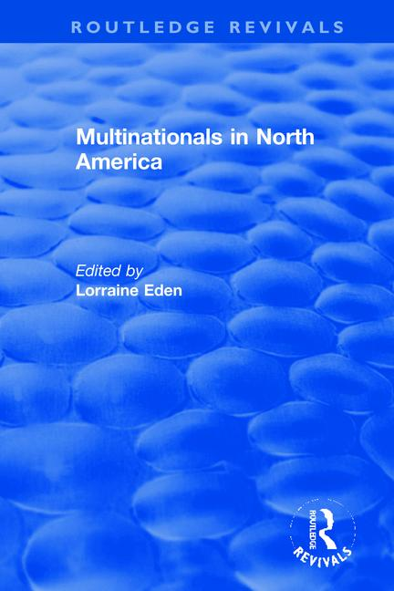 Multinationals in North America book cover
