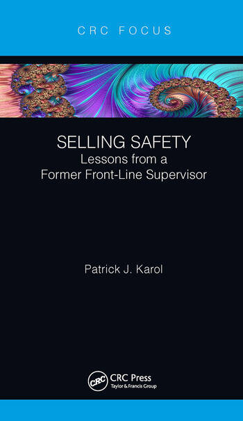 Selling Safety Lessons from a Former Front-Line Supervisor book cover