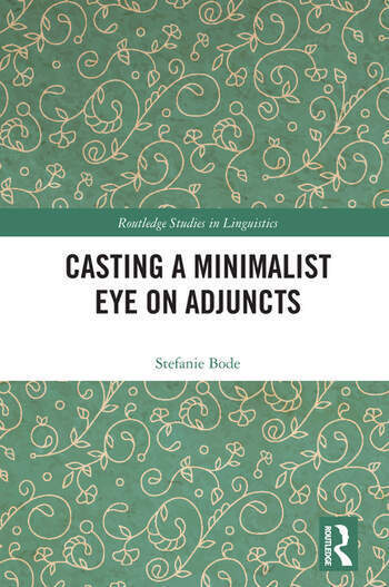 Casting a Minimalist Eye on Adjuncts book cover