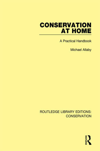 Conservation at Home A Practical Handbook book cover