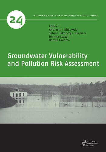 Groundwater Vulnerability and Pollution Risk Assessment book cover