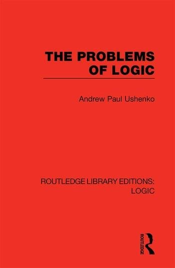 The Problems of Logic book cover