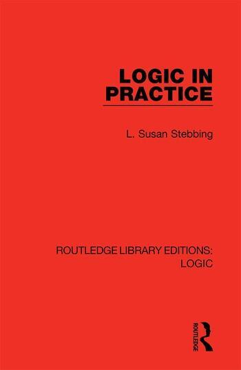 Logic in Practice book cover