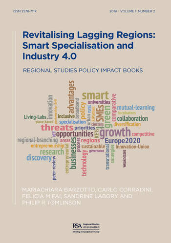 Revitalising Lagging Regions Smart Specialisation and Industry 4.0 book cover
