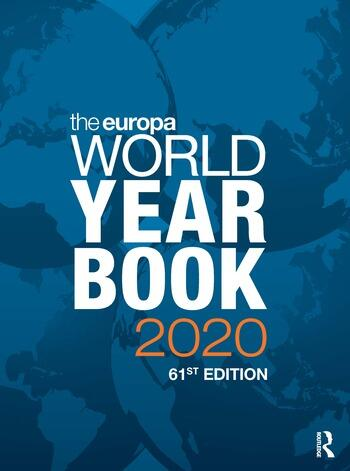 The Europa World Year Book 2020 book cover