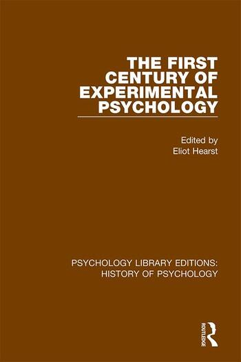 The First Century of Experimental Psychology book cover