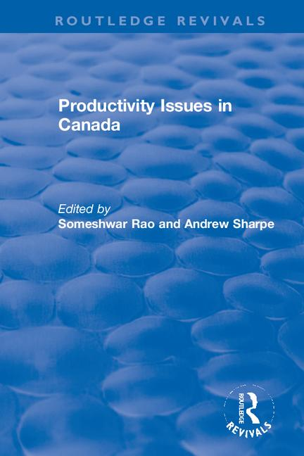 Productivity Issues in Canada book cover