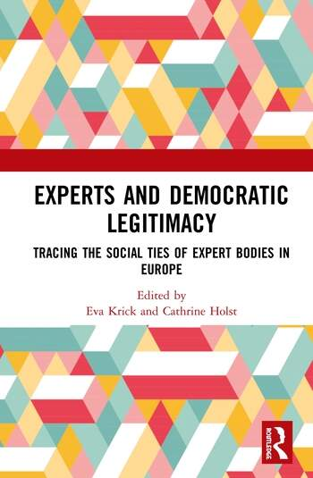 Experts and Democratic Legitimacy Tracing the Social Ties of Expert Bodies in Europe book cover