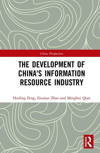 The Development of China's Information Resource Industry book cover