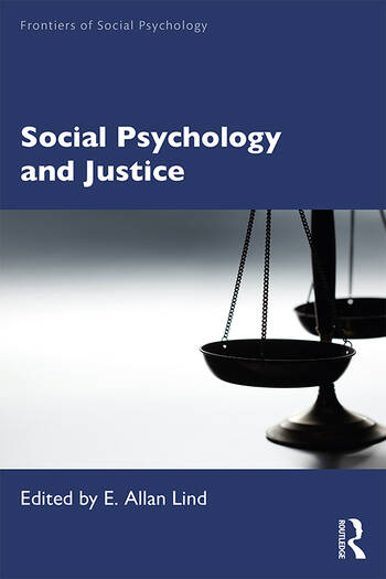 Social Psychology and Justice book cover
