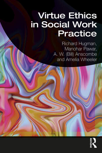 Virtue Ethics in Social Work Practice book cover