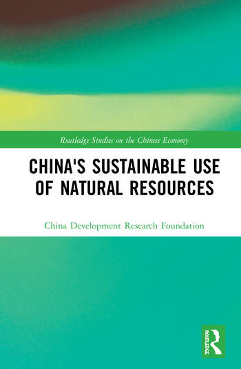 China's Sustainable Use of Natural Resources book cover