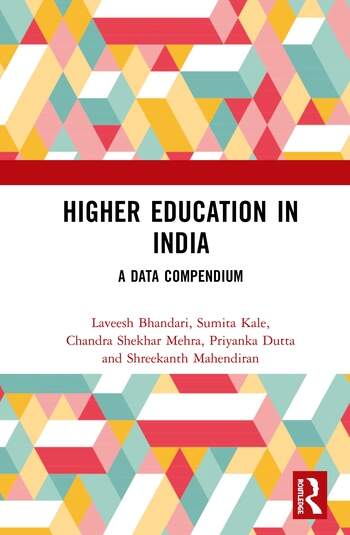 Higher Education in India A Data Compendium book cover