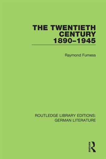 The Twentieth Century 1890-1945 book cover