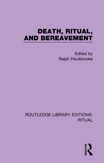 Death Ritual and Bereavement book cover
