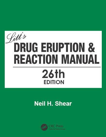 Litt's Drug Eruption & Reaction Manual 26E book cover