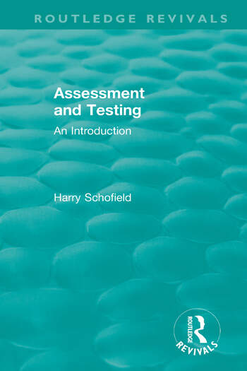 Assessment and Testing An Introduction book cover