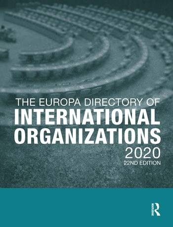 The Europa Directory of International Organizations 2020 book cover
